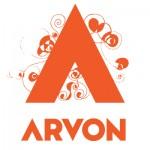 Arvon logo - orange