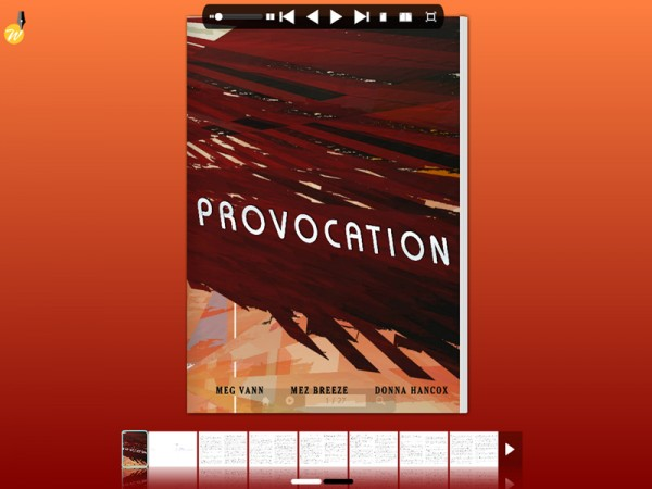 The original text of Provocation by Meg Van